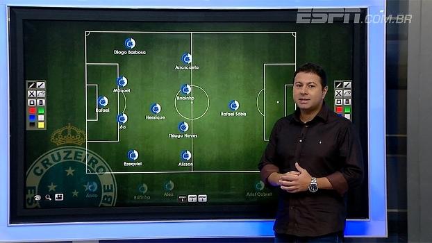 Marra analisa escalação do Cruzeiro e afirma: 'Tem tudo para dominar o adversário'