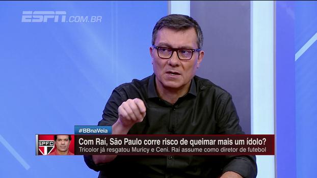 Raí aceita convite para comandar o futebol do São Paulo; veja a opinião de Paulo Calçade