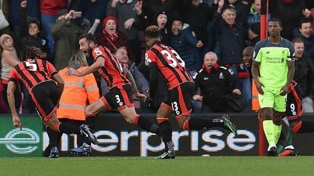 Premier League: Gols de Bournemouth 4 x 3 Liverpool