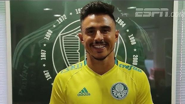Willian 'Bigode', novo reforço do Palmeiras, manda recado à torcida