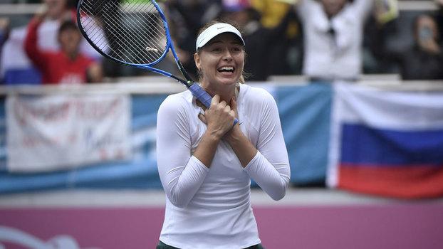 Sharapova é campeã em Tianjin e conquista primeiro título após suspensão
