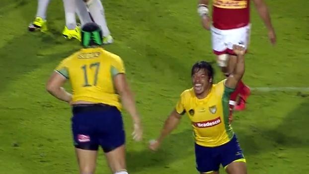 Histórico: com try no fim, Brasil vence Canadá pela 1ª vez no rugby