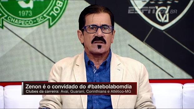Zenon fala sobre jogadores brasileiros e critica cobradores de falta: 'Estão com preguiça de treinar'