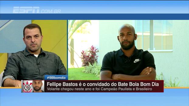 Fellipe Bastos fala de volta ao Brasil e admite dificuldade: 'O pior foi a velocidade de jogo'