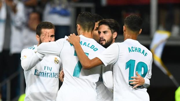 Veja os melhores momentos de Real Madrid 2 x 0 Espanyol