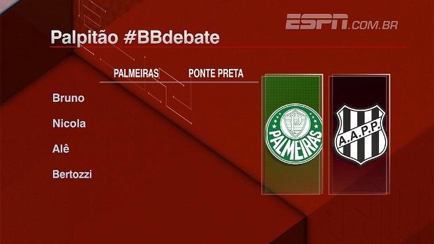 Quem avança: Palmeiras ou Ponte? Bate Bola Debate palpita