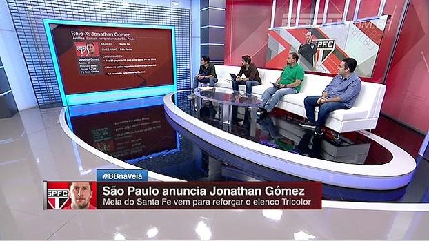 Bertozzi analisa Jonatan Gómez, novo meia do São Paulo: 'Se jogar o que jogou no Santa Fe, vai dar certo'
