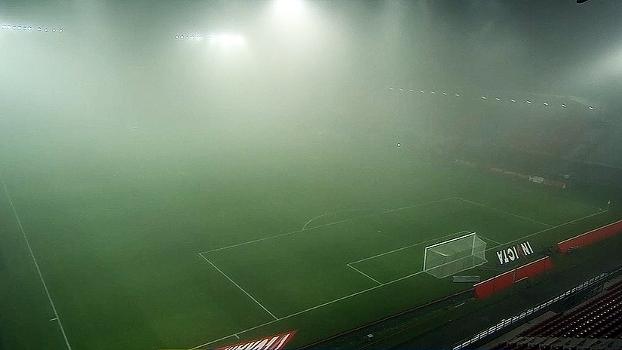 Forte neblina adia Dijon x Olympique de Marselha, pelo Francês