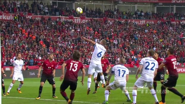 Assista aos melhores momentos da vitória da Islândia sobre a Turquia por 3 a 0!