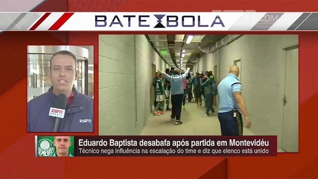 Vitória, agressões e emboscada: Eduardo de Meneses resume a noite do Palmeiras