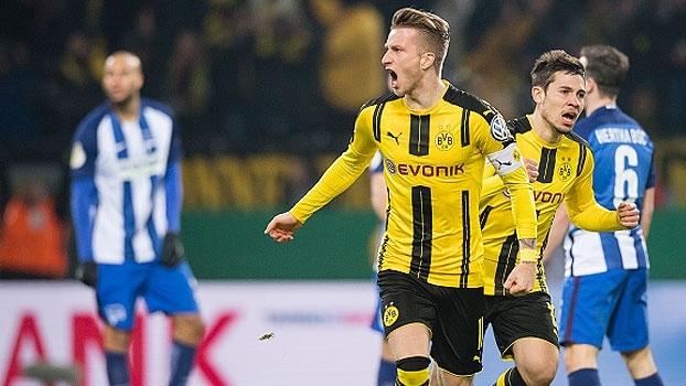 Copa da Alemanha: Melhores momentos de Borussia Dortmund 1 (4) x (3) 1 Hertha Berlin