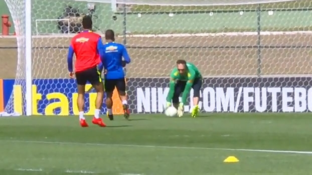 Confira como foi o dia da seleção brasileira na Granja Comary