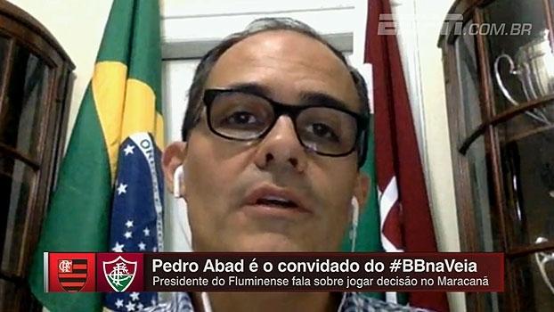 Presidente do Flu: 'O ideal é que uma empresa desapegada de paixões administre o Maracanã'