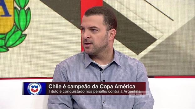 Zé Elias vê sombra de Maradona pressionando Messi, mas o exime de culpa por fracassos