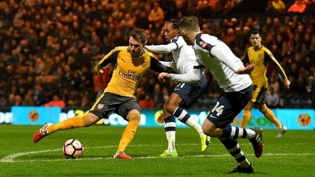 Copa da Inglaterra: Gols de Preston North End 1 x 2 Arsenal