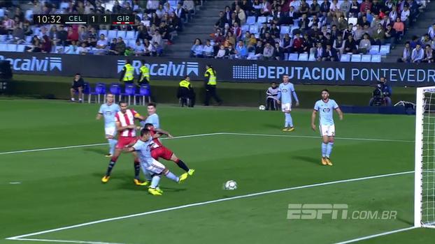 Veja os gols de Celta de Vigo 3 x 3 Girona