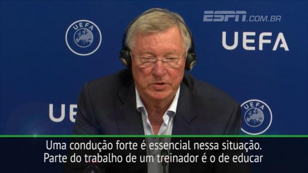 Ferguson se diz frustrado com 'caso Coutinho' e atribui responsabilidade ao jogador