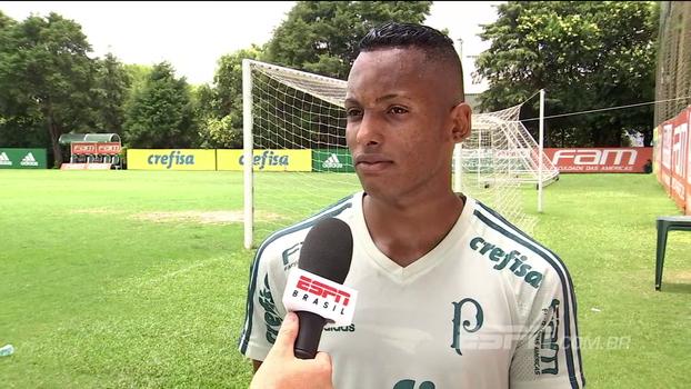 Esperança do Palmeiras na Copa São Paulo 'copia' Gabriel Jesus