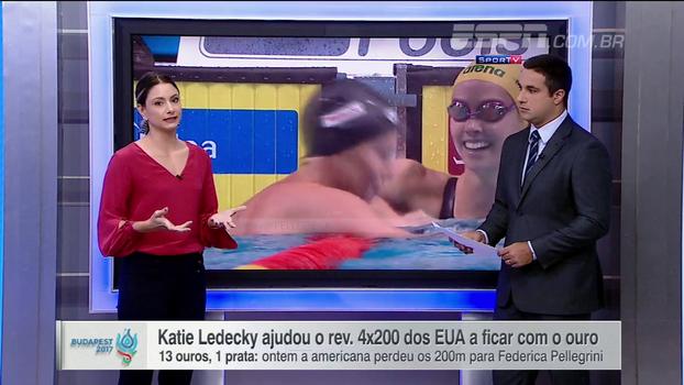 Delaroli elogia Katie Ledecky e analisa fatores por trás de medalha de prata nos 200m livre