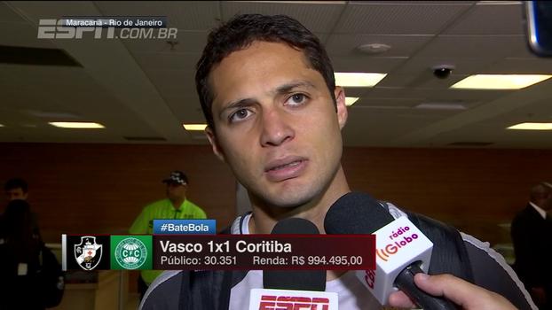 Anderson Martins fala sobre sequência do Vasco e aposta em trabalho: 'A gente tem muito o que melhorar'