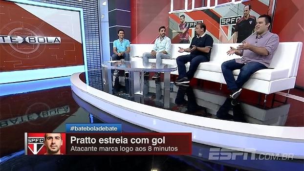 Lucas Pratto estreia com gol no São Paulo e Bate Bola analisa desempenho do jogador