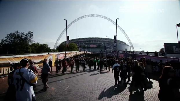Segunda casa da NFL, Londres ganha mais fãs da bola oval a cada ano e receberá 4 jogos na próxima temporada