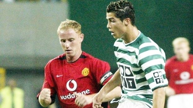 Relembre o jogo entre Sporting e United de 2003