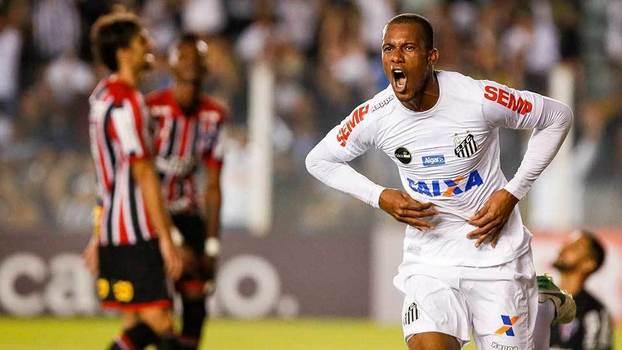 c3b6285669a0e Brasileiro  Gols de Santos 3 x 2 São Paulo