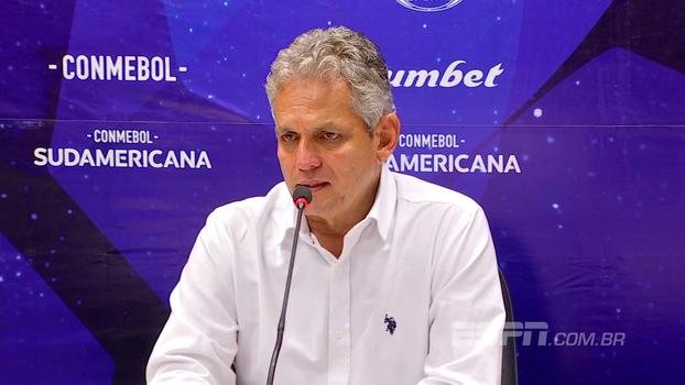 Reinaldo Rueda analisa jogo contra o Junior Barranquilla e celebra virada: 'A equipe mostrou caráter'