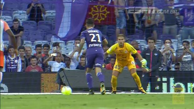 Com gol de pênalti, Toulouse bate Montpellier pela segunda rodada do Francês