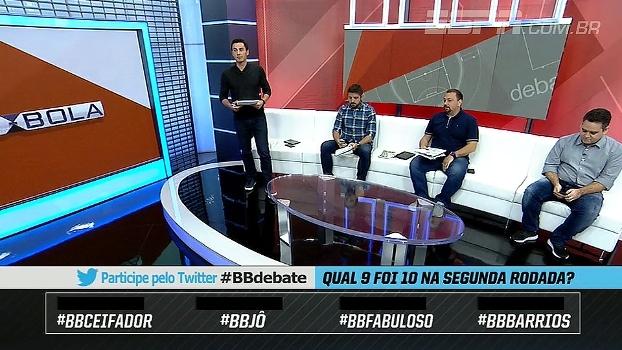 BB Debate elege o camisa 9 mais decisivo do final de semana no Brasileirão