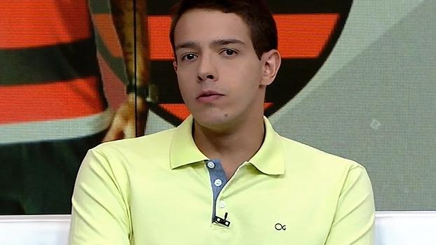 Rafa Oliveira diz que 'Fla foi mais time o jogo todo' contra o Vasco e destaca Everton