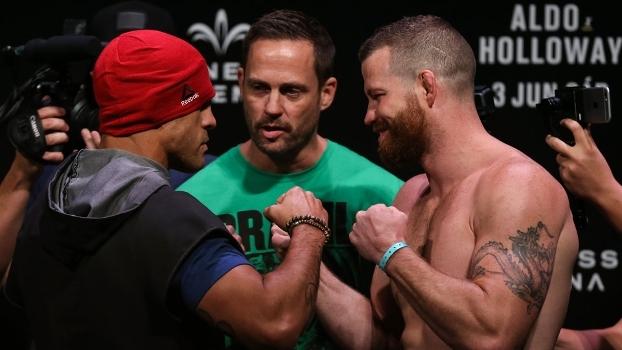 Veja a última encarada da carreira de Belfort no UFC