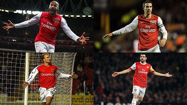 Há 127 anos, o Arsenal entrava em campo pela 1ª vez; relembre golaços de Henry e outros craques!