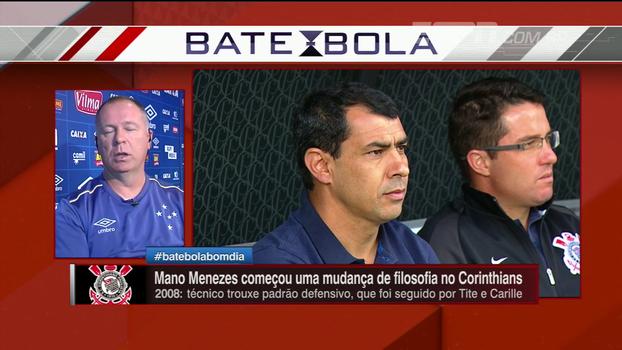 Mano destaca processo no Corinthians e elogia Carille