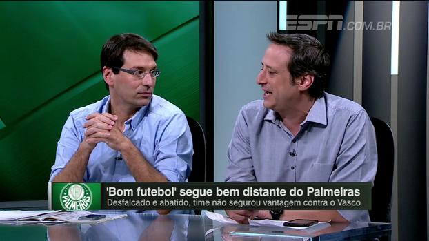 Gian critica 'exigência' de organizada e avalia dificuldades de Palmeiras sair da pressão: 'Situação meio melancólica'