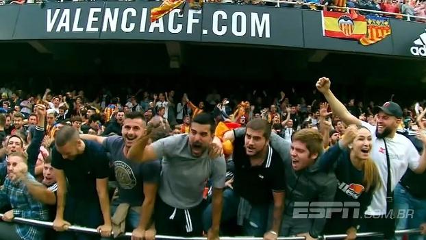 Torcida hostil e jogaço: relembre o último confronto entre Barcelona e Valencia