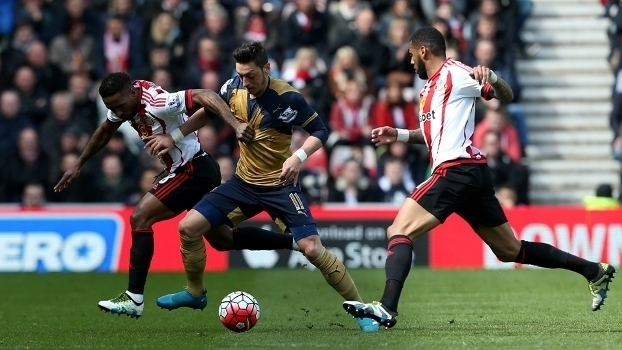 Inglês: Lances de Sunderland 0 x 0 Arsenal