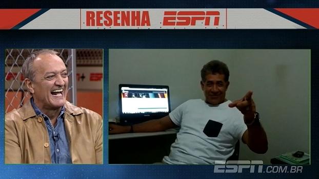 Nunes lembra de gol histórico e Leandro se emociona: 'Acima das conquistas que conseguimos'