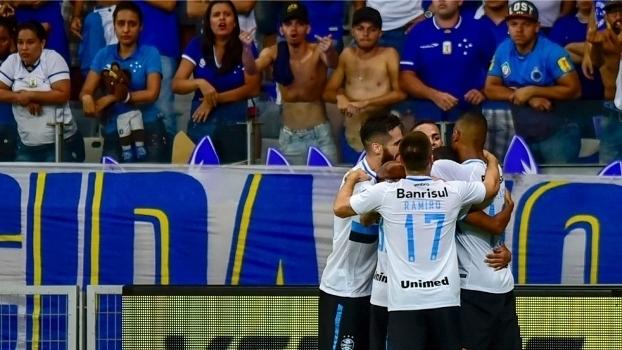 Assista aos gols da vitória do Grêmio sobre o Cruzeiro por 2 a 0!