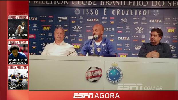 Apresentado no Cruzeiro, Bruno Silva quer voltar a brigar para ser melhor volante do país