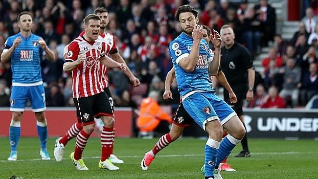 Arter perde pênalti e Bournemouth fica no empate sem gols contra o Southampton