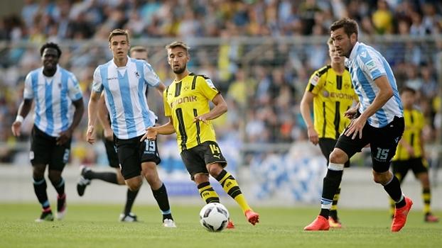 Veja o gol de Munique 1860 1 x 0 Borussia Dortmund em amistoso internacional