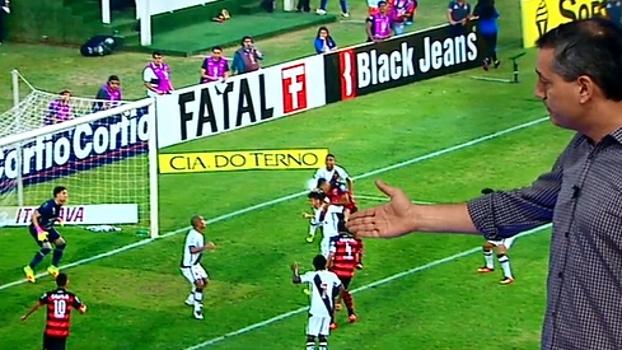 Sálvio concorda com gol anulado do Atlético-GO: 'Carga nas costas'