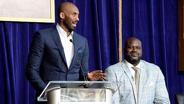 Kobe Bryant retribui elogios de Shaq: 'Jogador mais dominante que eu já vi'