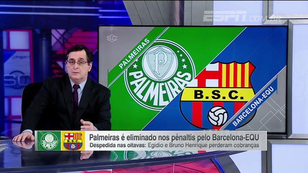Antero Greco: 'O Palmeiras tem elenco e não tem um conjunto. E isso ficou evidente'