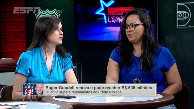 Jacqueline Lima, do NFL Luluzinha Club, comenta novo contrato de Roger Goodell com a NFL