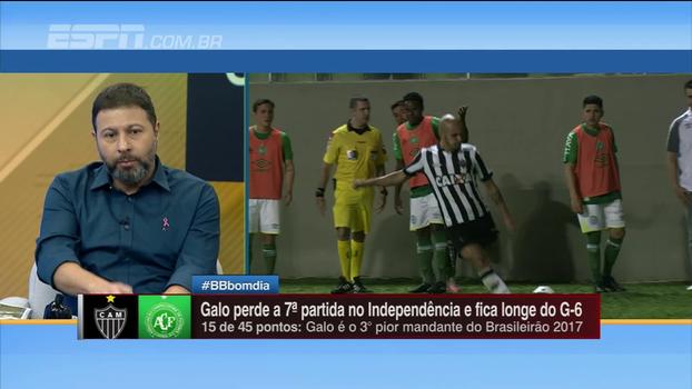 Marra analisa derrota do Atlético-MG e defende 'indignado' Fábio Santos: 'Tem feito um bom campeonato'