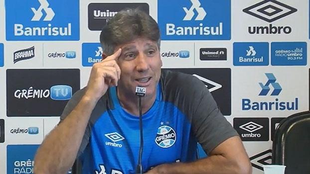 Renato Gaúcho promete mostrar gols dele para elenco e Barrios: 'Eles acham que é montagem'
