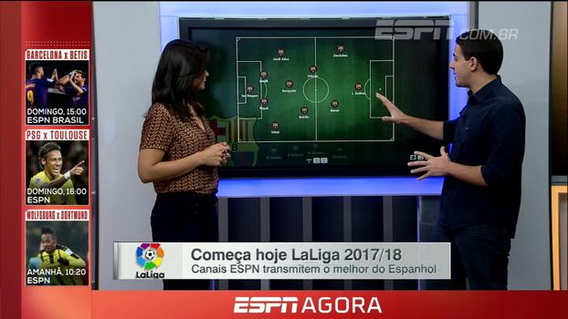 Sem Neymar e com Paulinho, Rafael Oliveira analisa possíveis variações do Barcelona para o início da LaLiga